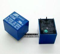10pcs 5V DC SONGLE Power Relay SRD-05VDC-SL-C PCB Type