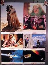 1989 Alemán 4 Vestíbulo Cartas & 2 Carteles Star Trek V