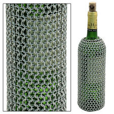 Medieval Chainmail Wine Bottle Bag Holder