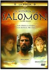LA BIBLIA-La Historia De Salomon  NEW DVD AUDIO ESPANOL , SEALED