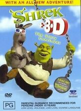 Shrek 3D The Story Continues (DVD, 2004, 2-Disc Set) Includes 4 pairs of Glasses