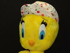 Big Tweety Bird Plush Painter Artist Stuffed Animal Toy