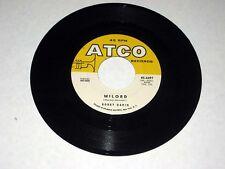 45 rpm BOBBY DARIN Golden Earrings/Milord  ATCO Sample