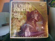 SEALED SPANISH LATIN MEX LP~JORGE NEGRETE~EL CHARRO INMORTAL~TEQUILA &~RANCHERAS