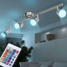 RGB LED Foco de Cubierta Focos GIRATORIA Salón iluminación regulable Big Luz