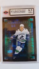 Brock Boeser 2017-18 Fluorescence Blue Rookie Card #36/50 KSA Graded 8.5!!