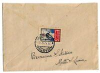 Erinnofilo - Fascismo - Croce Rossa - 10 cent - per Nicastro - 1935