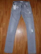 Neue Energie Damen Jeans Hose Cuff Metal Denimhose Gr. 28 Grau NEU/OVP