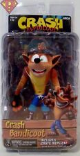 "CRASH BANDICOOT with CRATE 7"" Scale 5.5"" inch Action Figure Series 1 Neca 2018"