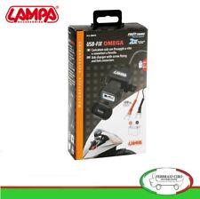 Presa usb Moto Con Ricarica Veloce 12/24 Volt Lampa 38878