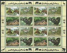 Timbres Animaux Nations Unies New York F 815/8 ** année 2000 lot 4162