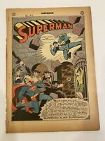 SUPERMAN #30 DC Comics Sept 1944 21 Pages See Pictures