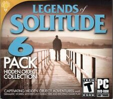 LEGENDS OF SOLITUDE 6 PACK HIDDEN OBJECTS PC GAME DISC ONLY NO CASE NO ART UNUSE