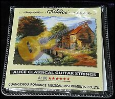 10 Sets of Classical Strings Sets Clear Nylon Guitar Strings A106-H Alice