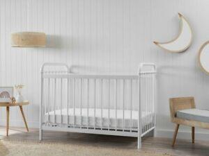 Sonata Cot - White | Nursery Furniture Cots