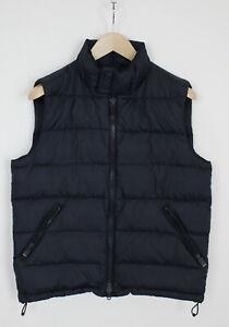 ASPESI Men's SMALL Down Filled Lightweight Full Zip Waistcoat 33041-GS