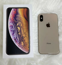 Iphone Xs Gold 64GB phone Sprint Excellent Working Condition No Flaws