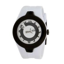 Puma Time Sport White Mens Rubber Strap Watch PU101121002 Sport Accessory New
