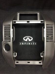 Infiniti 04-07 QX56 Instrument Panel-Center Bezel 682577S604, Graphite Interior