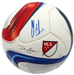 CLINT DEMPSEY AUTO ADIDAS SOCCER BALL SEATTLE SOUNDERS STEINER HOLO 194859