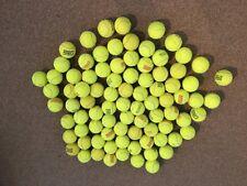 80 Tennisbälle gebraucht div. Marken