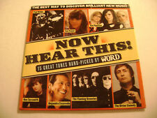 The Word - Now Hear This, No. 42 (CD) Paul Weller, Cat Power, The Pipettes...