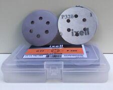 50 disques abrasifs auto-agrippants p. ponceuses excentriques, Ø77, P320, 6 trou