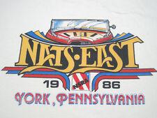 COOL!! 1986 vtg NATS EAST NSRA street rod hot T SHIRT YORK PA car LARGE