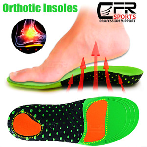 Orthotic Shoe Inserts Insoles High Arch Support Plantar Fasciitis Flat Feet Pain