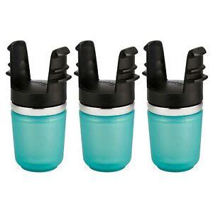 Contigo West Loop Tea Infuser For Travel Mug Grayed Jade Green Stainless(3-Pack)