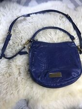 Marc By Marc Jacobs Blue Pebble Crossbody