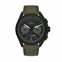 Edox 09503 37NNVCV NNV Men's Chronorally Black Quartz Watch