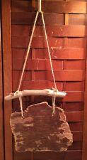 "Rustic Handmade Small Driftwood Plywood Blank Sign Garden Home Decor 11"""