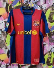 1957- 2007 FC Barcelona Barça Football Shirt Soccer Jersey Camiseta Mens Size XL