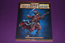 WARHAMMER V2 RPG JDR Role - Shades of Empire : Organisations of the Old World