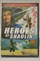 heroes of shaolin chen sing ntsc import dvd English subtitle