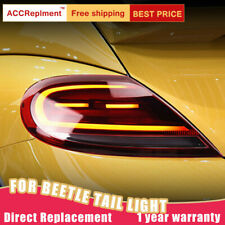 For Volkswagen Beetle LED Taillights Assembly Dark/Red LED Rear Lamps 2012-2019