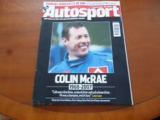 AUTOSPORT SEPTEMBER 20 2007 COLIN McRAE INTEREST *MEGA TATTY AS PICTURES*