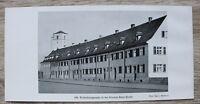 1 Blatt 1929 Bamberg Wohnhäuser Kloster-Banz-Straße Architektur ++ Ofr 23x11cm
