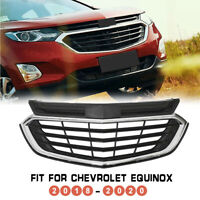 For 2018 2019 2020 Chevrolet Equinox Front Bumper Upper Grille Grill Mesh Black