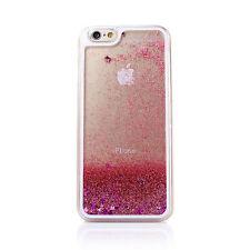 For iPhone X 4 5 6S 7 8Plus Transparent Glitter Stars Hard Phone Case Cover Skin