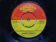 "DIONNE WARWICK You'll Never Get To Heaven - Pye International 7"" (1964)"