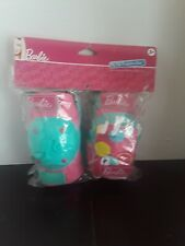 New Listing2014 Barbie My Fab Protective Gear knee + elbow pads + gloves Girls 3+ Nip