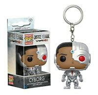 Funko - Pop Keychain: DC - Justice League - Cyborg Brand New In Box