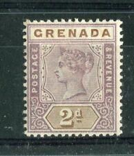 Grenada QV 1895-99 2d mauve & brown SG50 MH