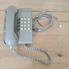 Vintage BT Push button Telephone 8204R with  small directory tested working