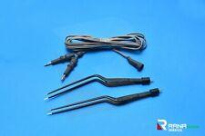 Hardy Bayonet NON-STICK Bipolar Forceps 21.5cm & 3mtr Cord Reusable-Surgical+Vet