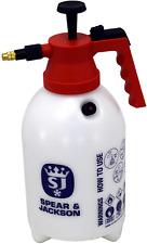 Spear & Jackson 2LPAPS Pump Action Pressure Sprayer, 2 L