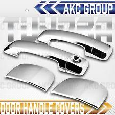 Cobra Tek For 2007-2015 Toyota Tundra Double Cab Chrome Door Handle Cover Caps