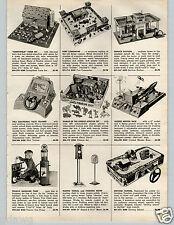 1957 PAPER AD Toy Texaco Gasoline Pump TWA Pilot Trainer  Fort Comanche Navy
